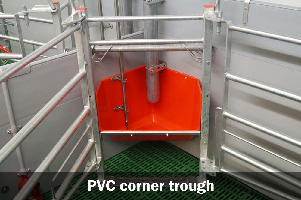 PVC corner trough for Welsafe